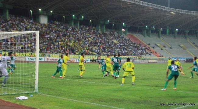Urfaspor attığı 2 golle 1-1 berabere kaldı