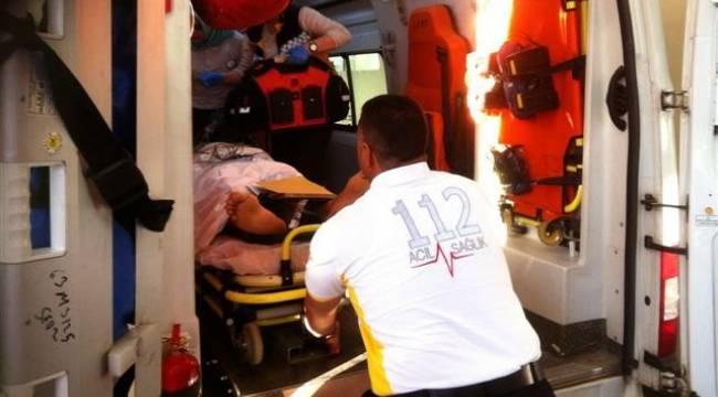 Viranşehir'de motosiklet tır'a çarptı