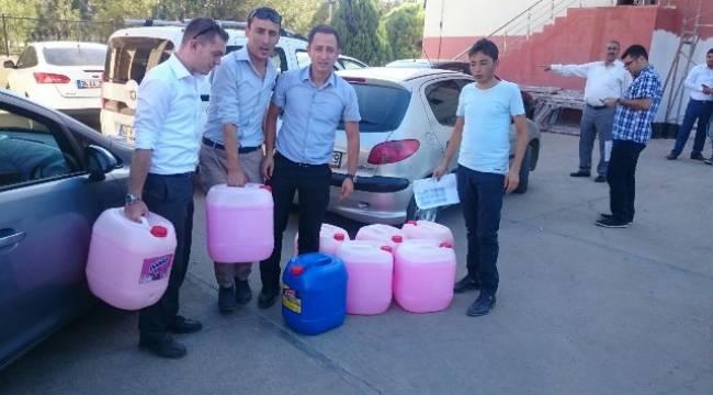 Viranşehir'de Okullara malzeme dağıtımı yapıldı