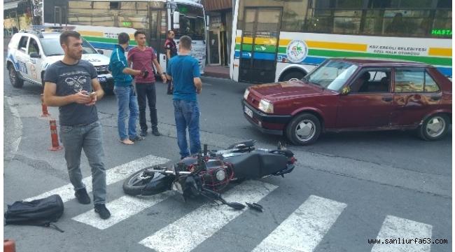 Yarım saat içinde 2 ayrı motosiklet kazası: 2 yaralı