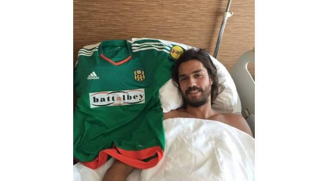Yeni Malatyaspor'un tecrübeli kalecisi çapraz bağ ameliyatı oldu