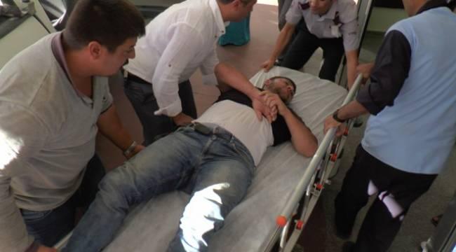Yüksek gerilim hattına kapılan işçi 10 metreden düştü