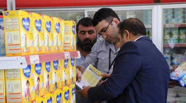 12 Bin Kişilik Mülteci kampında gıda denetimi