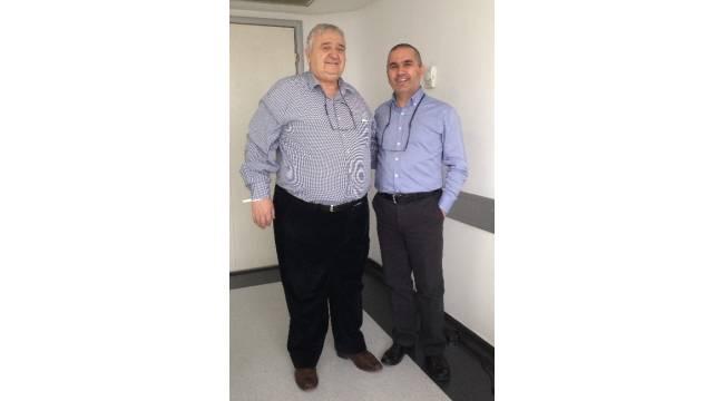 70'lik İrfan dede, obezite ameliyatıyla yeniden doğdu