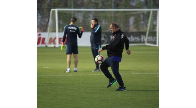 A Milli Takım, Ukrayna maçına hazır