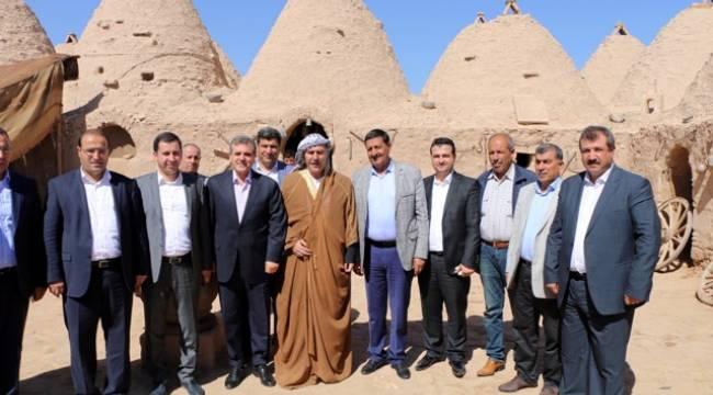 AK Parti Teşkilat Başkan Yardımcısı Harran'ı ziyaret etti