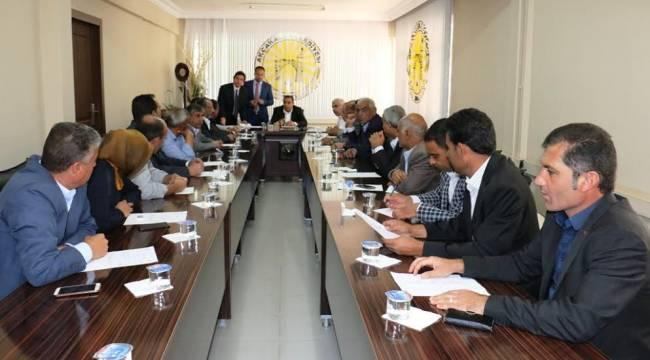 Akçakale Belediyesi Ekim ayı meclis toplantısı gerçekleşti