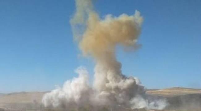 Akçakale'de 10 kğ TNT imha edildi