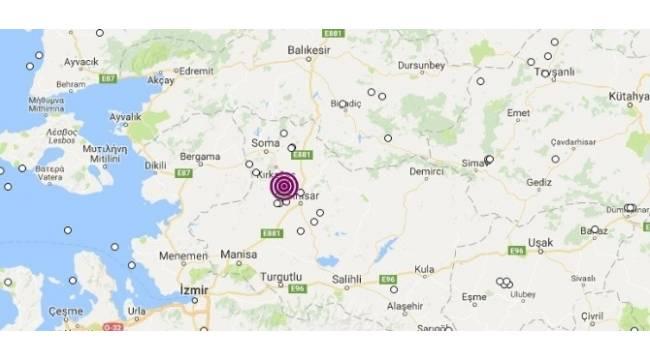 Akhisar'da 4'ün üzerinde ardarda iki deprem korkuttu