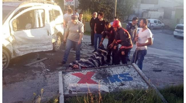 Ambulans gelinceye kadar yaralıyı konuşturarak uyanık tuttular