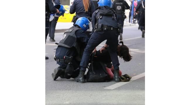 Ankara'daki '10 Ekim' eylemlerinde, 74 kişi gözaltına alındı