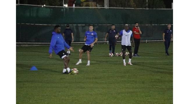 Antalyaspor Morais'siz çalıştı