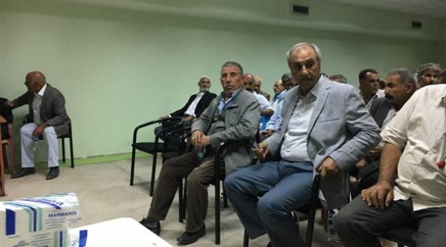 Atatürk Barajı Sulama Birliği kongre yaptı