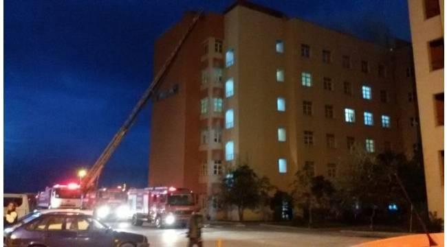 Bandırma Devlet Hastanesi'nde yangın
