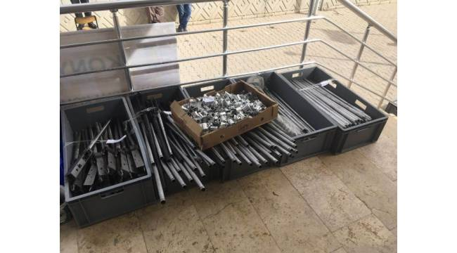 Beyşehir'de merdiven altı silah imalathanesi kapatıldı