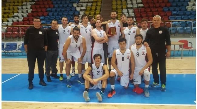 Bilecik Belediyesi Basketbol Kulübü birinci oldu
