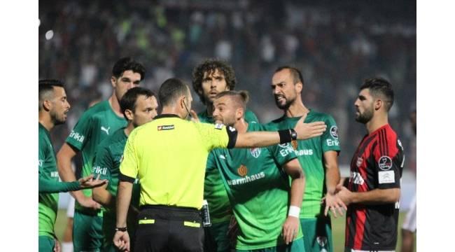 Bursaspor'un Erdem itirazı reddedildi