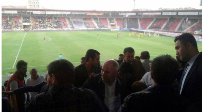 Büyükşehir Gaziantepspor - Samsunspor maçında protokol karıştı