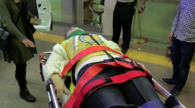 Çağrı merkezi çalışanları kaza yaptı, 3 yaralı