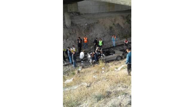 Çankırı'da feci kaza: 3 ölü, 1 yaralı