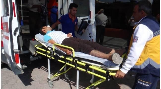 Çatışmalarda yaralanan 10 ÖSO askeri Kilis'e getirildi