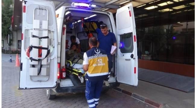 Çatışmalarda yaralanan 11 ÖSO askeri Kilis'e getirildi