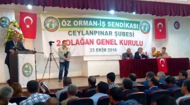 Ceylanpınar Öz Orman-İş'de Mustafa Akgeyik dönemi