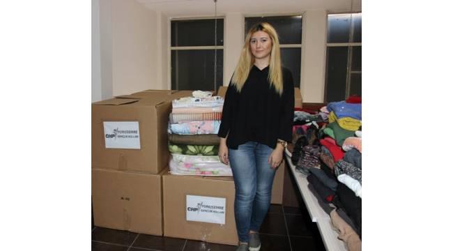 CHP'den mültecilere kışlık yardım
