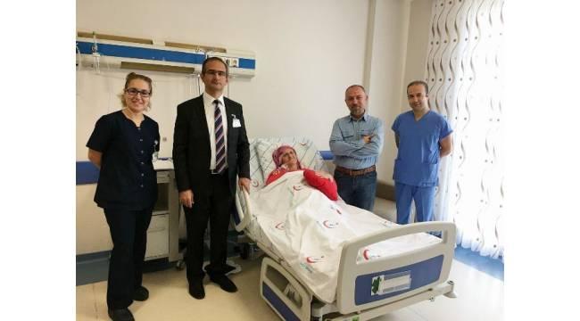 Çorlu Devlet Hastanesinden bir ilk daha