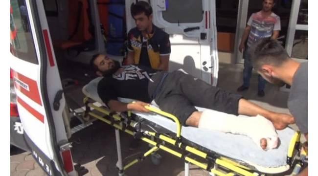 DEAŞ'ın saldırısında yaralanan 7 kişi Kilis'e getirildi