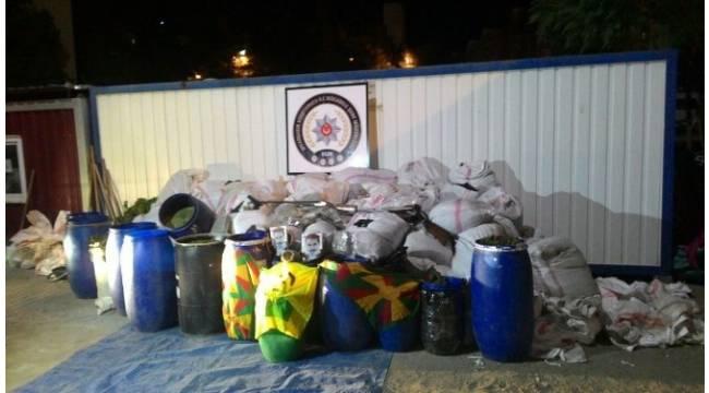 Diyarbakır Lice'de narkotik terörüne büyük darbe
