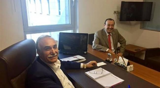 Dr.İnan Dr.Fakıbaba'yı ziyaret etti