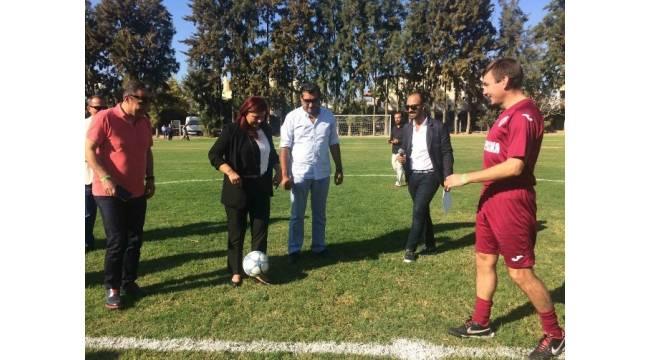 Dünya Barış Kupası Ulusal Masterler Futbol Turnuvası Kuşadası'nda başladı