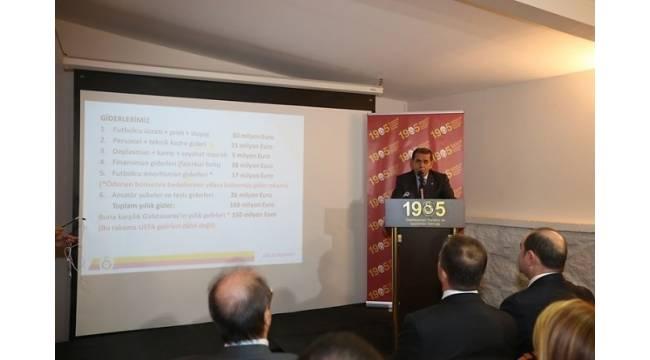 """Dursun Özbek: """"Benden sonraki yönetimine sıfır borçla Galatasaray teslim edeceğim"""""""