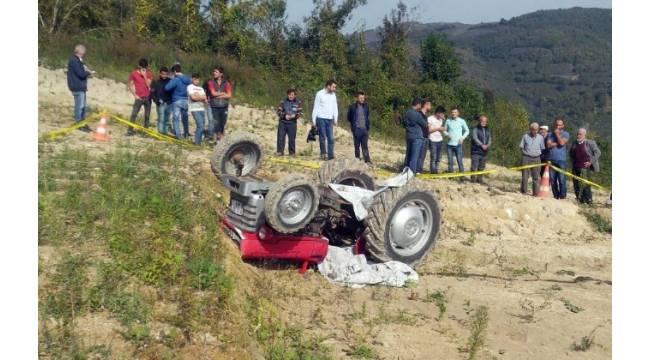 Düzce'de traktör kazası: 1 ölü