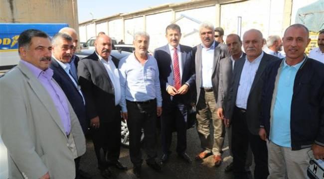 Ekinci'den Urfa Zahireciler Borsasına ziyaret