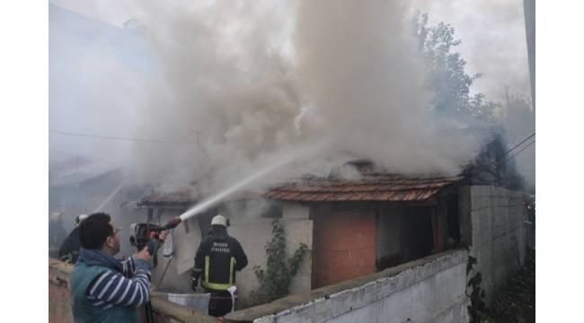 Elektrikli ısıtıcı yangına sebep oldu