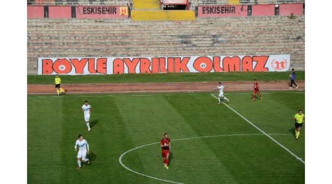 Eskişehirspor, Atatürk Stadyumu'na veda etti