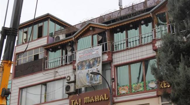 Eyyübiye Belediyesi kaçak yapılara geçit vermiyor