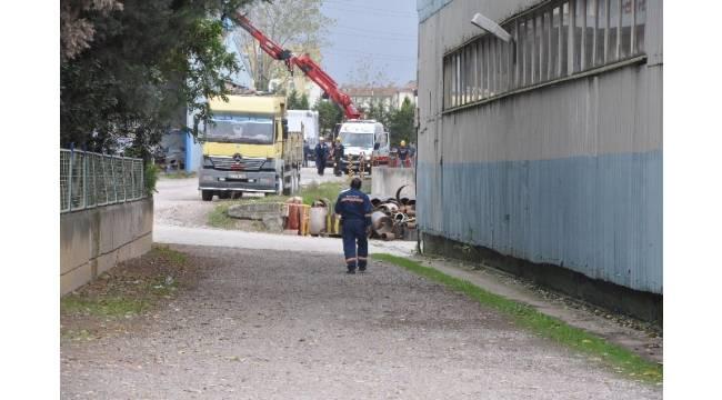 Fabrikada iş kazası: 1 yaralı