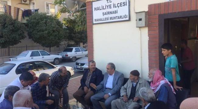 Fakıbaba'dan Şair Nabi Mahallesine ziyaret