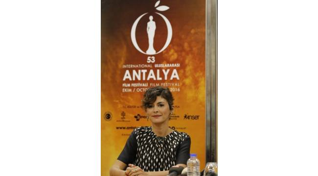 """Fransız yıldız Tautou: """"Antalya'dan çok etkilendim"""""""