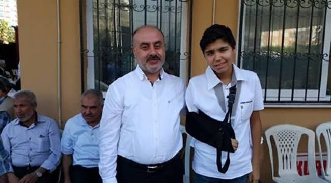 G.Antep'te yaralanan Urfalı tedavi görüyor