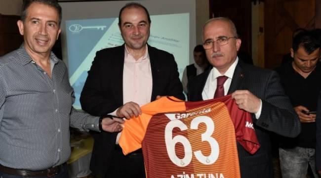 Galatasaraylı iş adamlarından Şanlıurfa çıkarması
