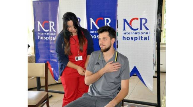 Gaziantepspor'da futbolcular grip aşısı oldu
