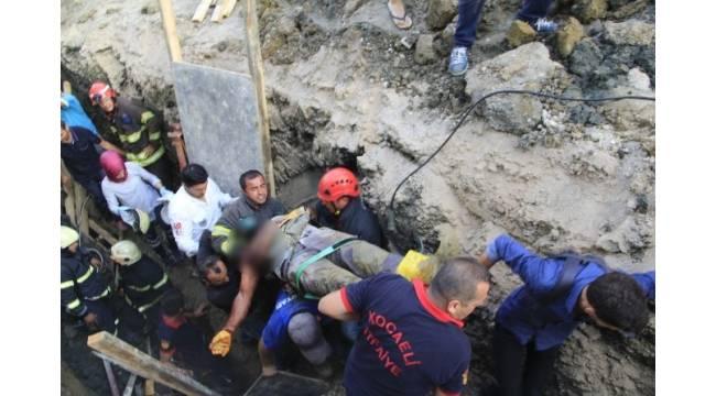 Göçük altından çıkarılan işçi hayatını kaybetti