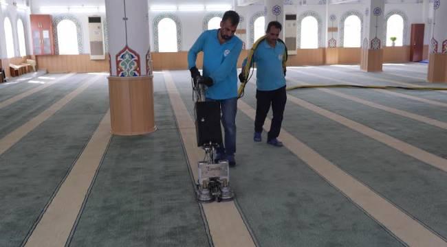 Haliliye'deki camiler temizleniyor