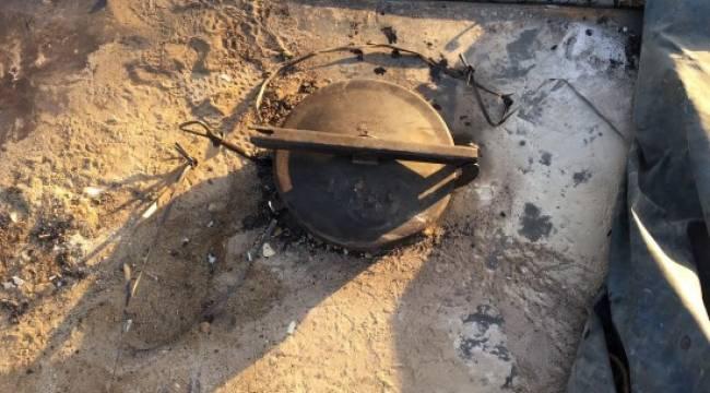 Ham petrol hırsızları suçüstü yakalandı