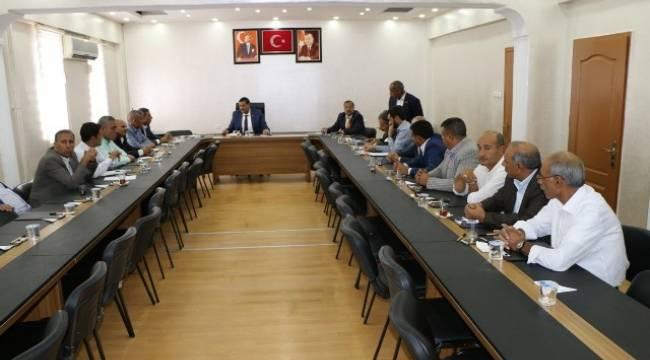 Harran Belediyesi meclis toplantısı gerçekleşti
