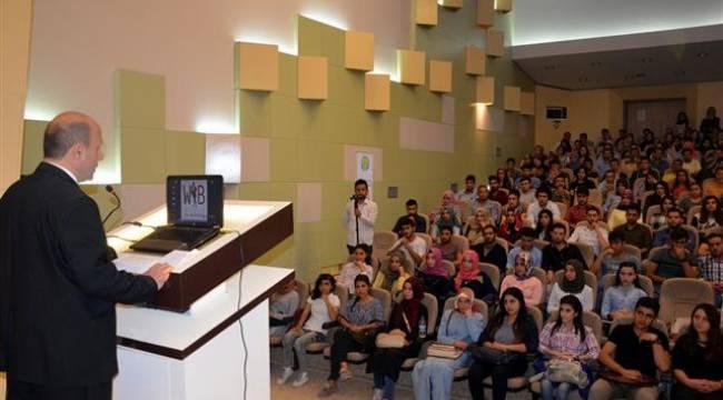 Harran Üniversitesinde girişimcilik semineri